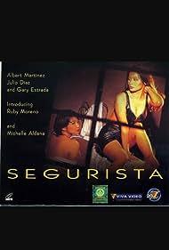 Michelle Aldana and Ruby Moreno in Segurista (1996)