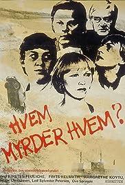Hvem myrder hvem? Poster