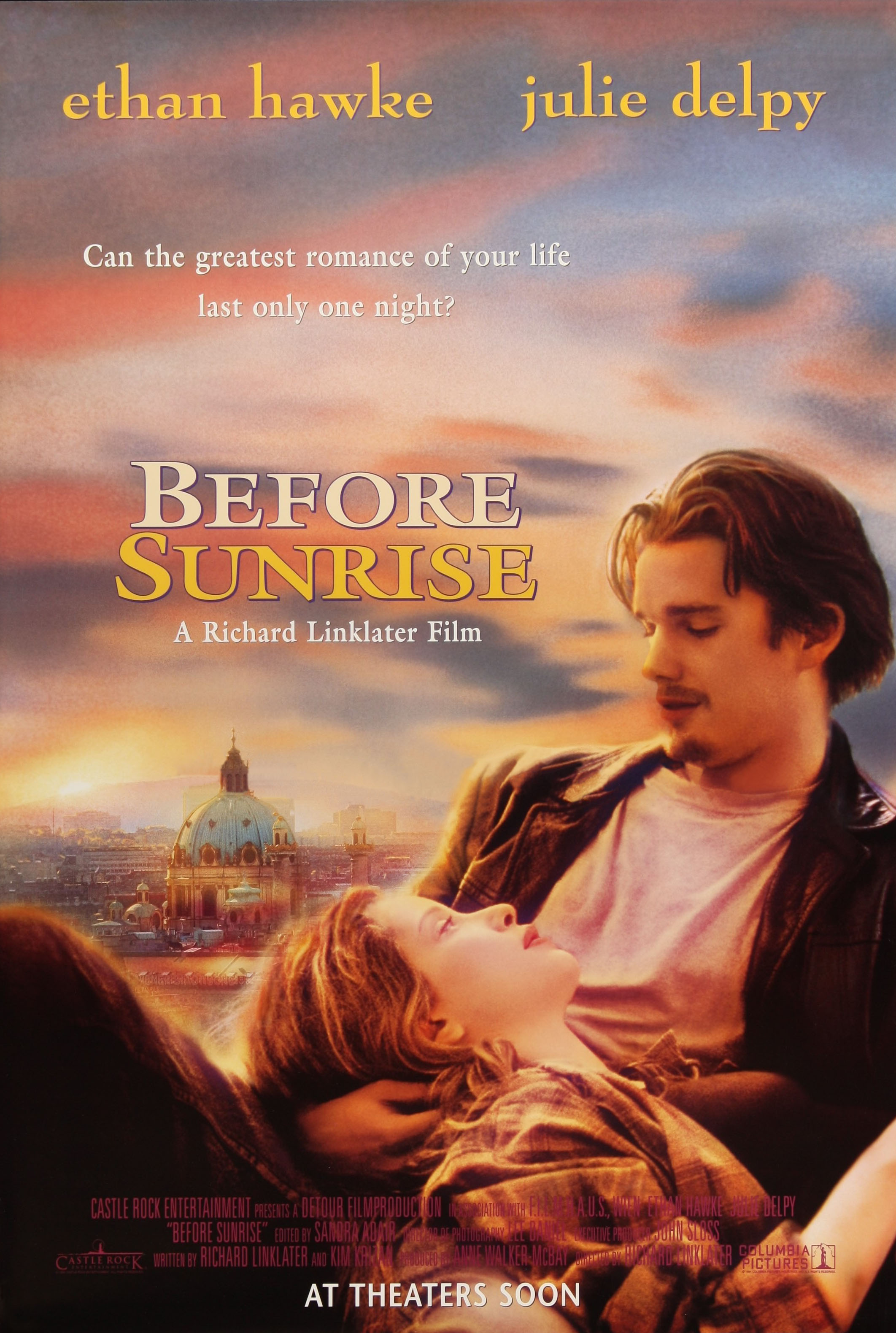 Image result for Before Sunrise, 1995