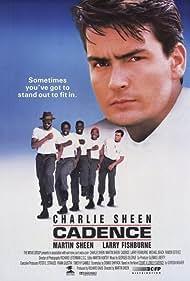 Charlie Sheen, Laurence Fishburne, Michael Beach, Blu Mankuma, and John Toles-Bey in Cadence (1990)