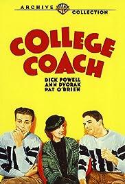 College Coach(1933) Poster - Movie Forum, Cast, Reviews