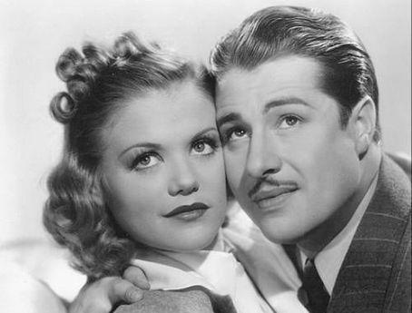 Don Ameche and Simone Simon in Josette (1938)