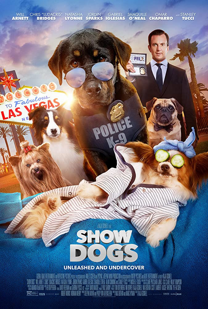 Show Dogs 2018 Dual Audio Hindi ORG 300MB BluRay 480p ESubs