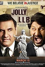 Arshad Warsi and Boman Irani in Jolly LLB (2013)