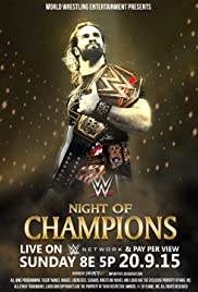 WWE Night of Champions Poster