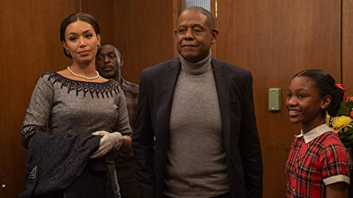 Forest Whitaker, Ilfenesh Hadera, and Demi Singleton in Godfather of Harlem (2019)
