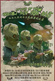 Attack of the Broccoli Men from Mars Poster