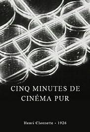 Cinq minutes de cinéma pur Poster