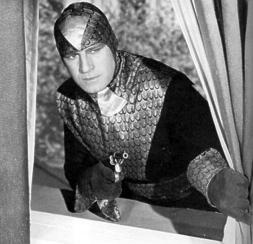 Roy Barcroft in The Purple Monster Strikes (1945)