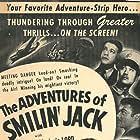 Turhan Bey, Edgar Barrier, Tom Brown, Marjorie Lord, Keye Luke, and Sidney Toler in The Adventures of Smilin' Jack (1943)