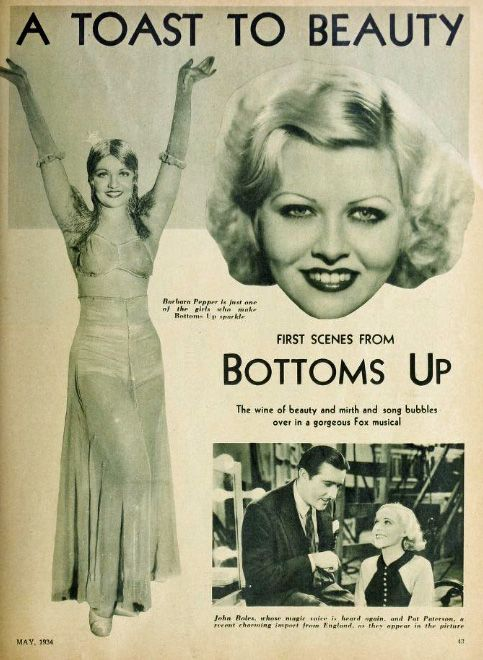 John Boles, Pat Paterson, and Barbara Pepper in Bottoms Up (1934)