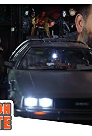 Go Back to the Future with Hot Toys' 1/6 Scale Delorean with Mike Mendez Poster