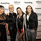 Natasha Negovanlis arrives at the Frameline Festival in San Francisco, June 2018.