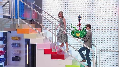 Lego Masters: Tyler & Amy Watch Their Masterpiece Break