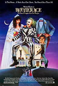 Geena Davis, Winona Ryder, Alec Baldwin, Jeffrey Jones, Michael Keaton, and Catherine O'Hara in Beetle Juice (1988)