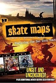 Skate Maps Poster