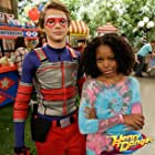 Riele Downs and Jace Norman in Henry Danger (2014)
