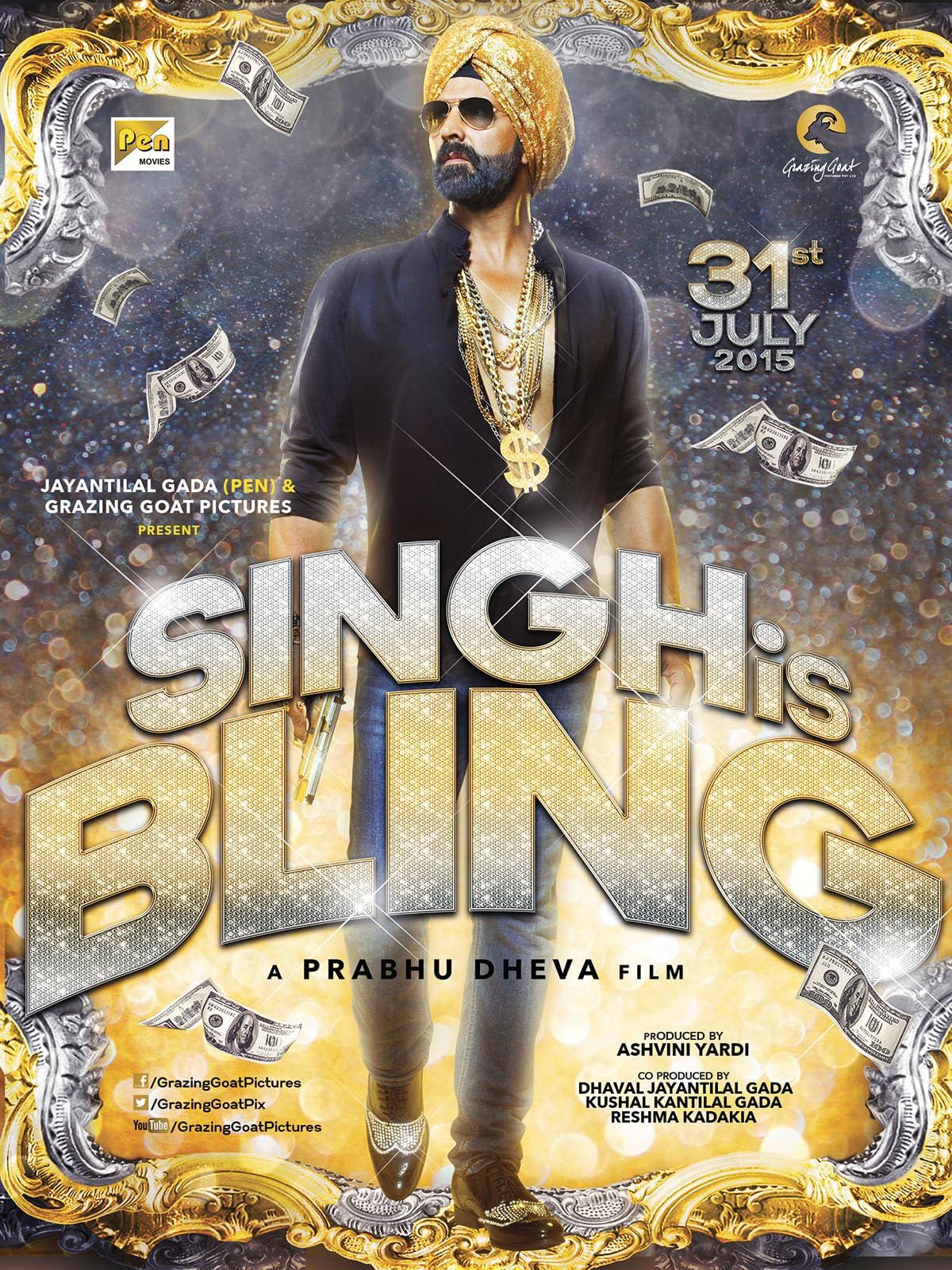 Singh Is Bliing (2015) Hindi AMZN WEB-DL x264 AAC Esub