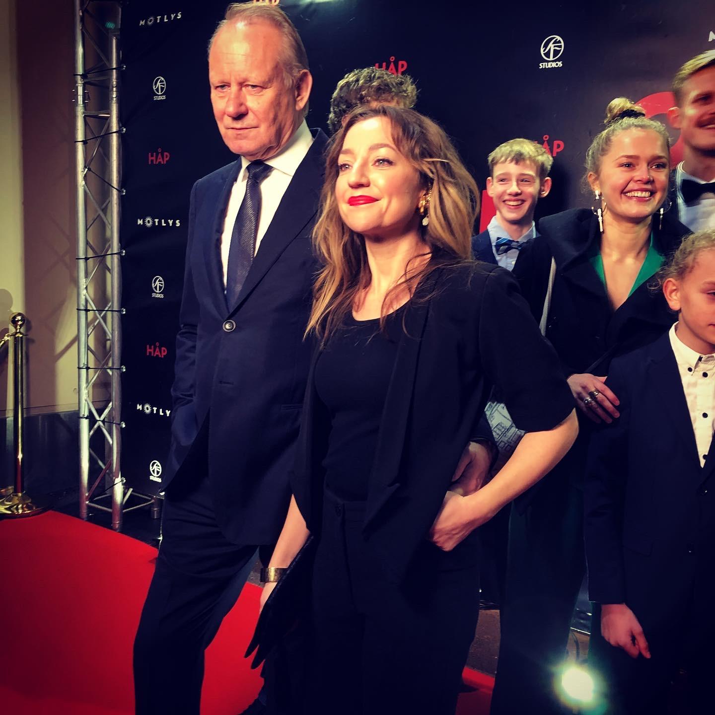 Stellan Skarsgård and Andrea Bræin Hovig in Håp (2019)