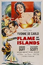 Flame of the Islands (1955) Poster