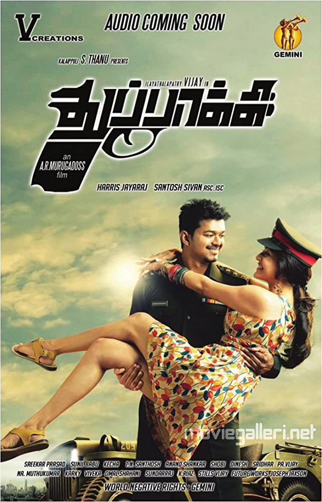 Thuppakki 2012 Dual Audio Hindi ORG 720p UNCUT BluRay 1.1GB ESub Download