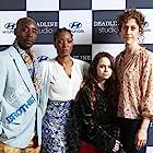 Yolonda Ross, Amber Havard, Rob Morgan, and Annie Silverstein in Bull (2019)
