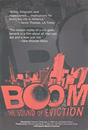 Boom: The Sound of Eviction Poster