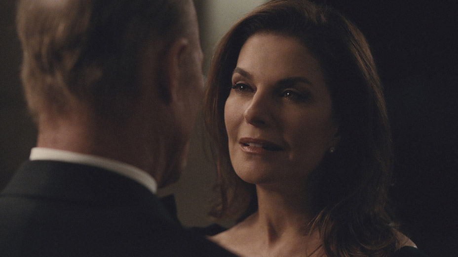 Ed Harris and Sela Ward in Westworld (2016)