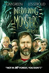 Tom Green, Les Stroud, and Jessi Combs in Interviewing Monsters and Bigfoot (2019)