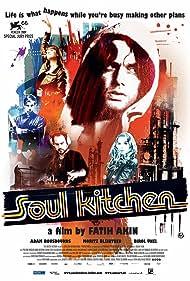 Moritz Bleibtreu, Adam Bousdoukos, Birol Ünel, Pheline Roggan, and Anna Bederke in Soul Kitchen (2009)