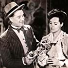 Maurice Chevalier and Marcelle Derrien in Le silence est d'or (1947)