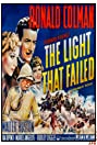The Light That Failed (1939) Poster
