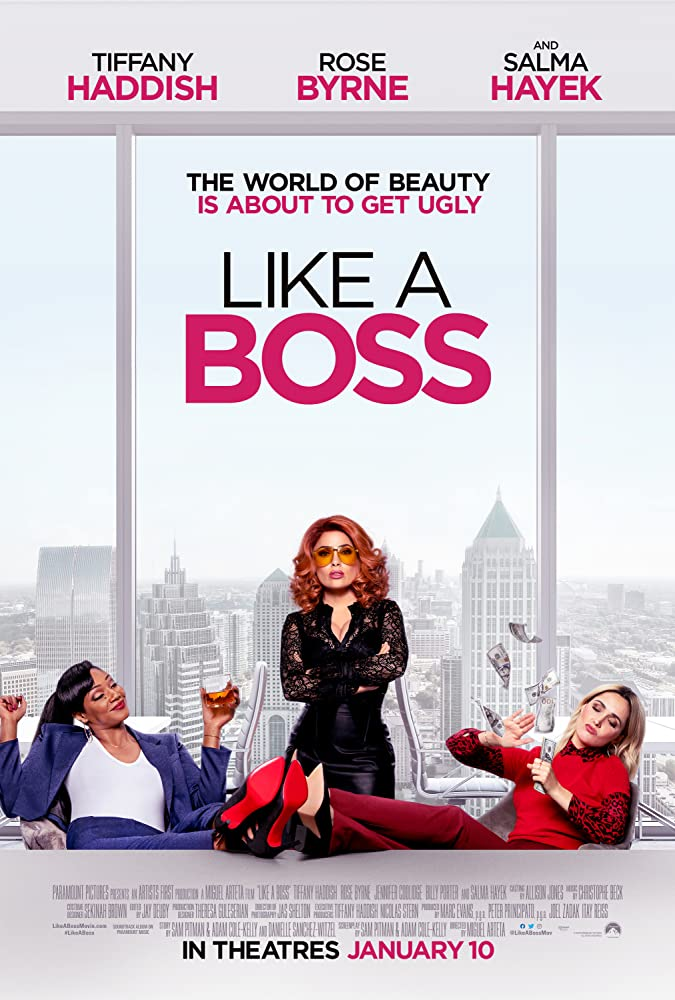 Salma Hayek, Rose Byrne, and Tiffany Haddish in Like a Boss (2020)