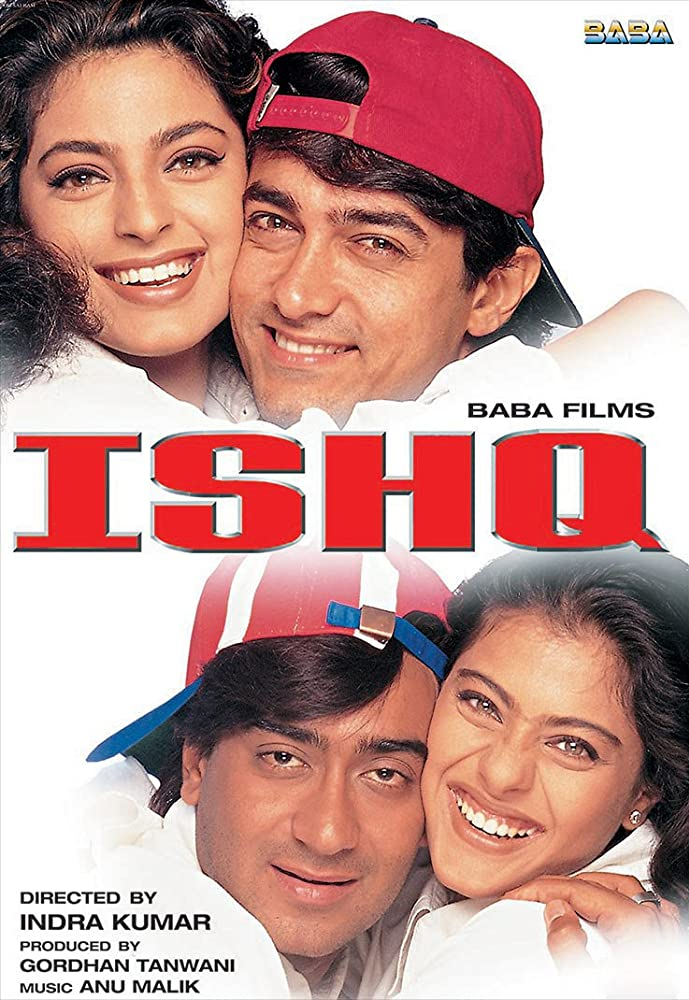 Ishq 1997 Hindi 720p HDRip x264 1.2GB