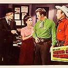 Rex Allen, Paul Harvey, Mary Ellen Kay, and Harry Lauter in Thunder in God's Country (1951)
