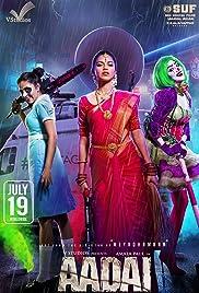 Aadai Poster