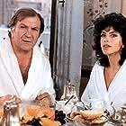 Clio Goldsmith and Pierre Mondy in Le cadeau (1982)