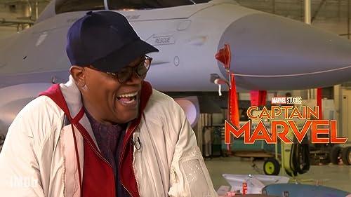 'Captain Marvel' Stars Love the '90s