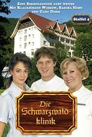 Eva Maria Bauer, Jochen Schroeder, and Barbara Wussow in Die Schwarzwaldklinik (1985)