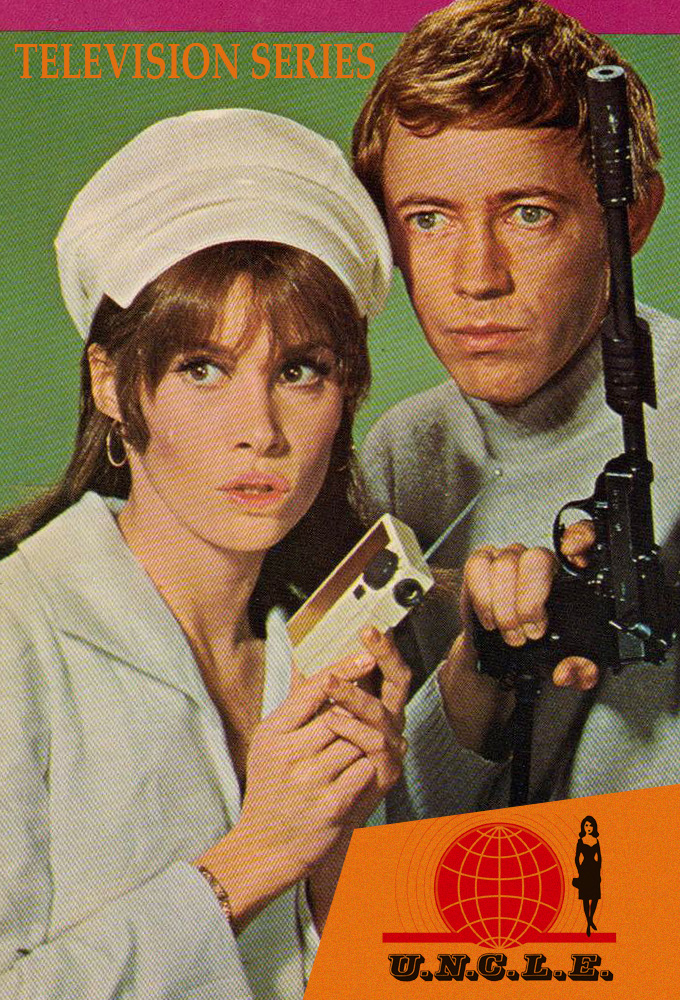 Noel Harrison and Stefanie Powers in The Girl from U.N.C.L.E. (1966)