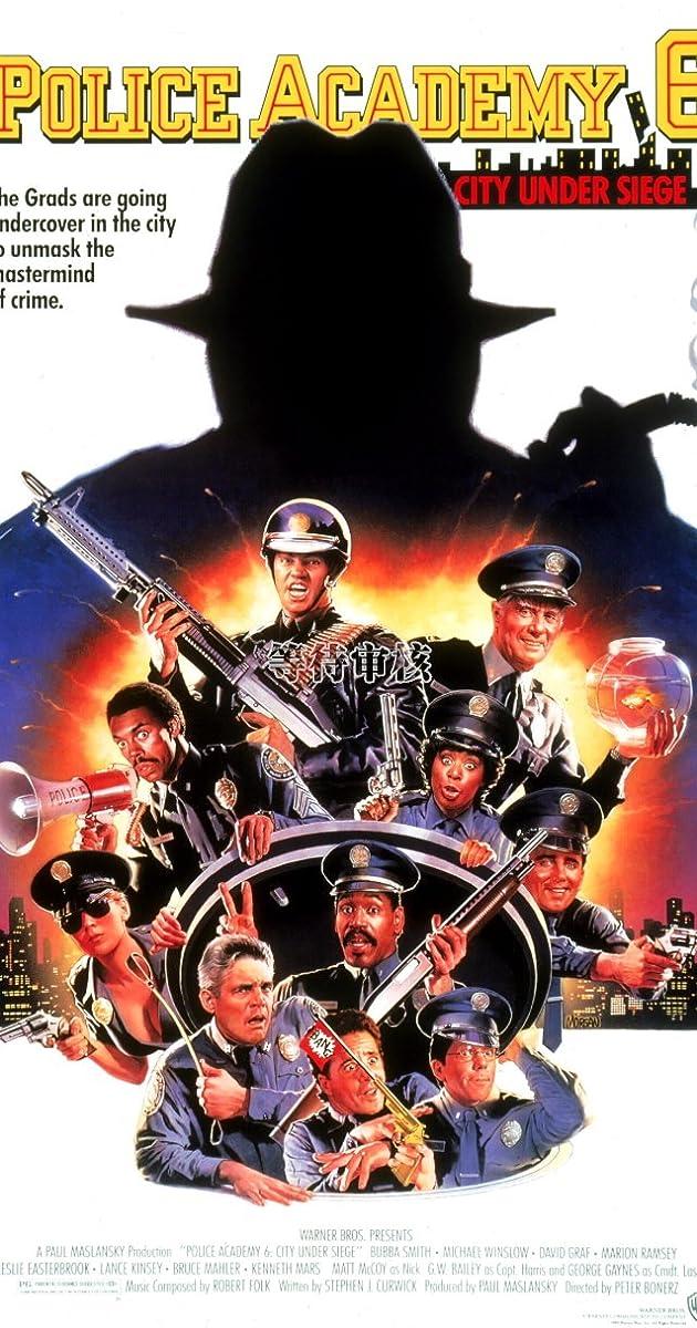 Subtitle of Police Academy 6: City Under Siege