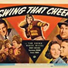 Tom Brown, Andy Devine, Constance Moore, and Robert Wilcox in Swing That Cheer (1938)