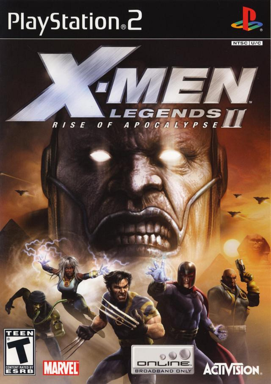X Men Legends II Rise Of Apocalypse Video Game 2005