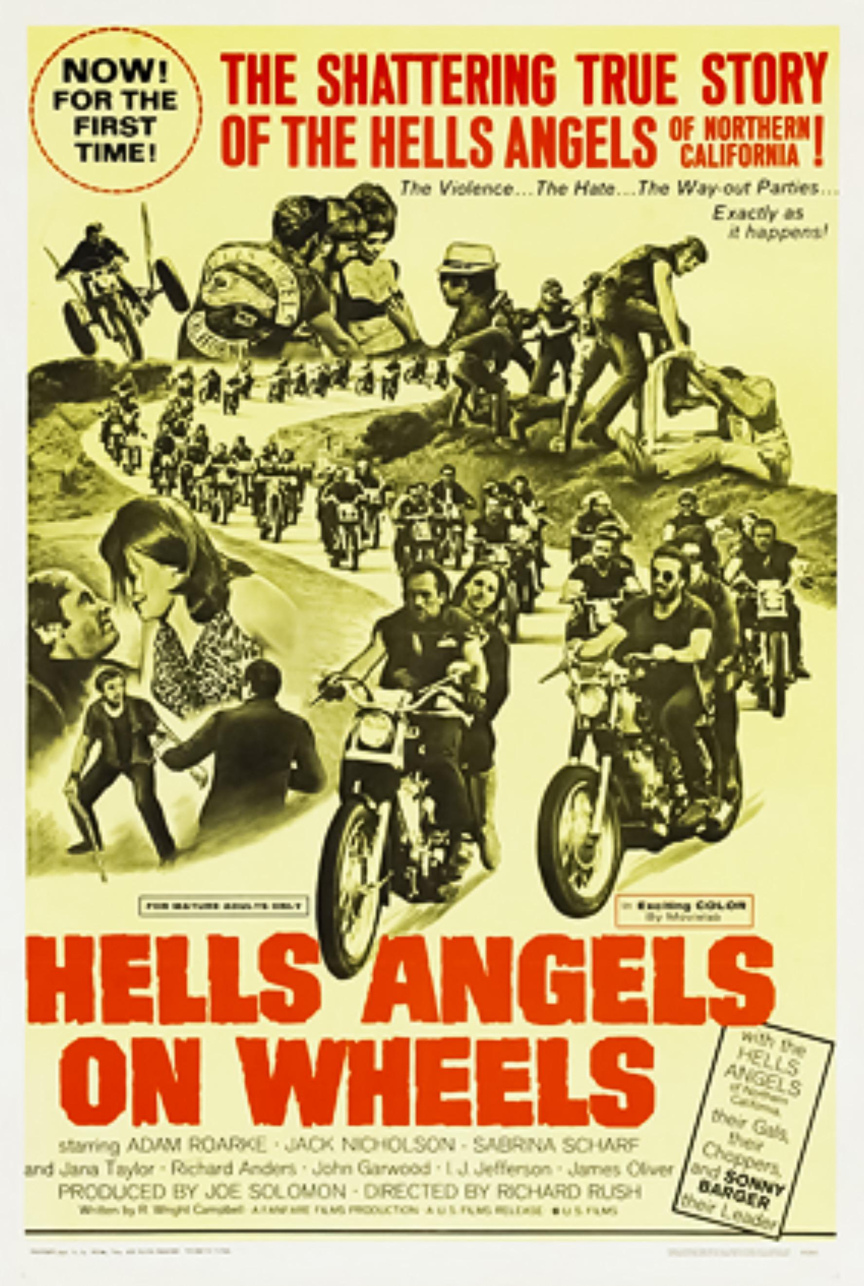 Hell/'s Angels /'69 Vintage Movie Poster