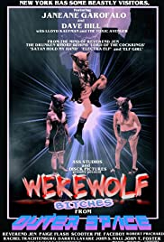 Werewolf Bitches from Outer Space Poster