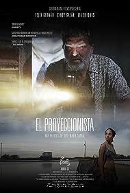Félix Germán and Cindy Galán in El proyeccionista (2019)
