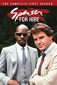 Avery Brooks and Robert Urich in Spenser: For Hire (1985)