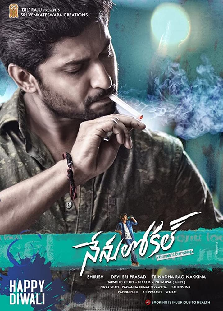 Nenu Local 2017 Hindi Dual Audio 480p UNCUT HDRip 450MB x264 AAC
