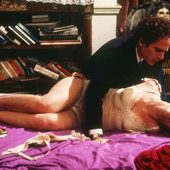 Theresa Russell and Art Garfunkel in Bad Timing (1980)