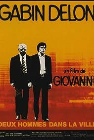 Alain Delon and Jean Gabin in Deux hommes dans la ville (1973)